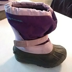 Columbia girls winter boots